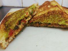 Schezwan Sandwiches Sanjyot Keer