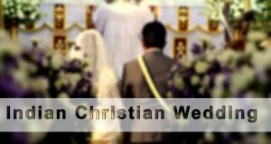 Indian christian weddings