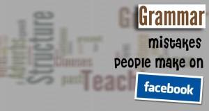 Grammar Mistakes on Facebook