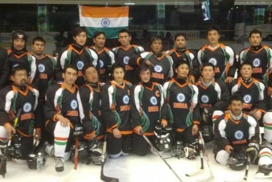 India's Ice Hockey team