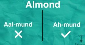 Proper Pronunciation of food words