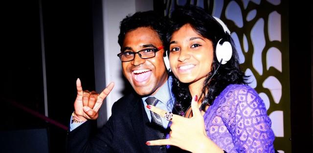 Ahmedabad DJ Rosita and Richie