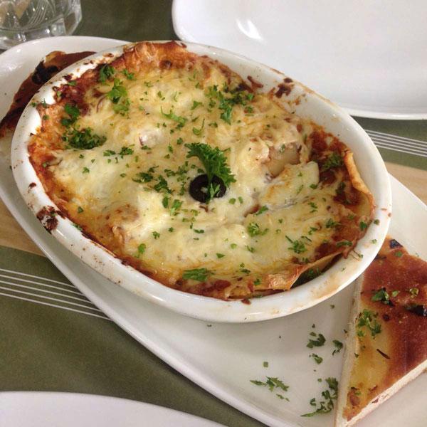 Fozzie's Chicken lasagna