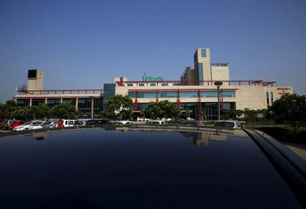 Indian Luxury hospital Fortis Memorial