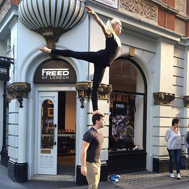 Richard and ashlee at london