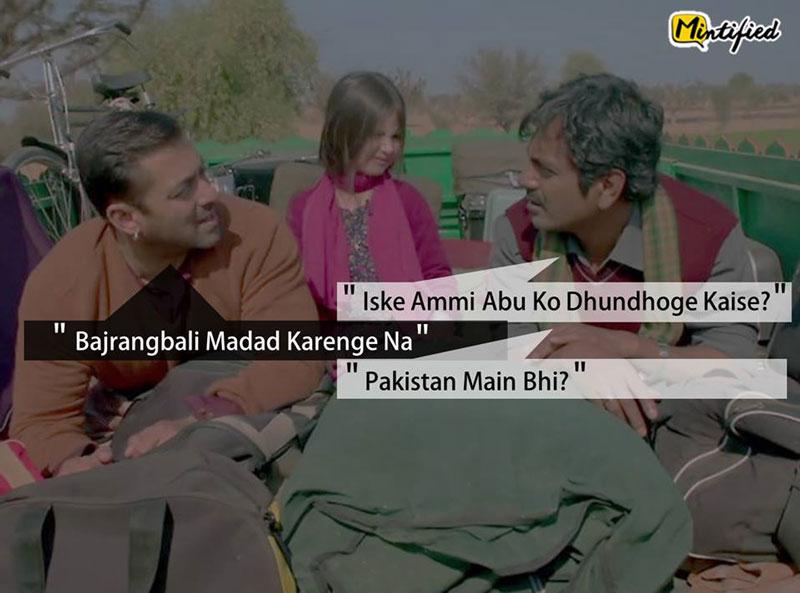 Bajrangi Bhaijaan Dialogues