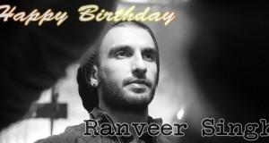 Happy Birthday Ranveer Singh