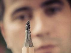 Bosnian Sculptor Jasenko Đorđević pencil tip sculptures