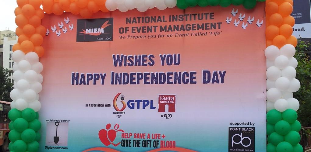 NIEM Ahmedabad Independence day