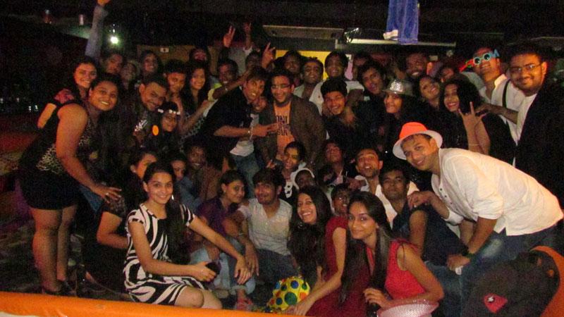 Priyesh Sagar at NIEM ahmedabad Party