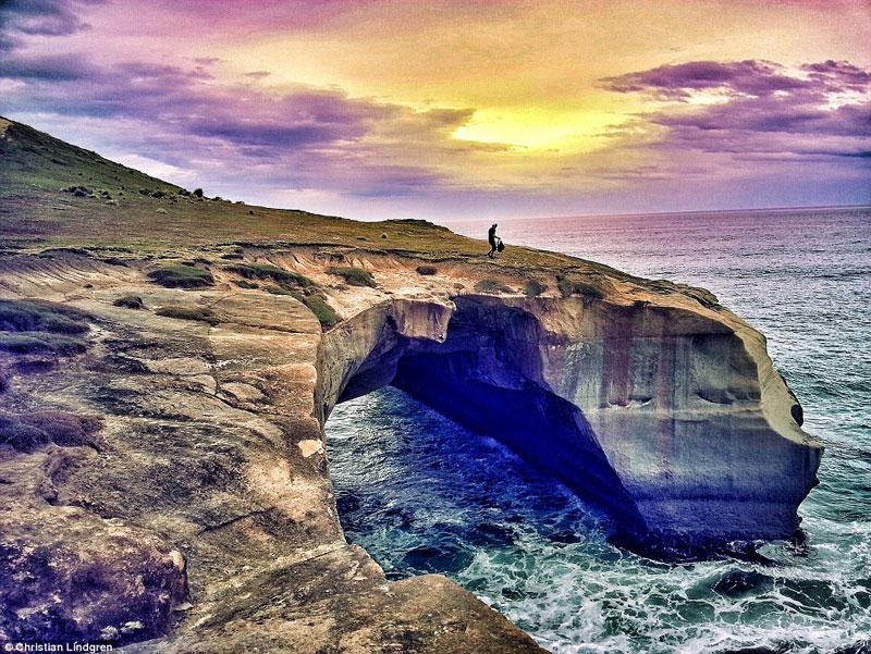 Christian Lindgren Captured sunset in Dunedin, New Zealand