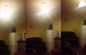 Ireland Ghost creates havoc in kitchen