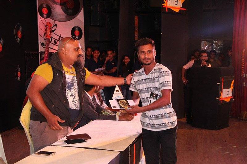 Arvind vegda and the winner