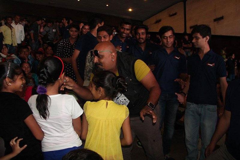 Arvind Vegda at NIEM college Idol finale