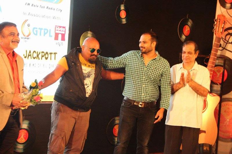 Arvind Vegda at Finale of NIEM College idol