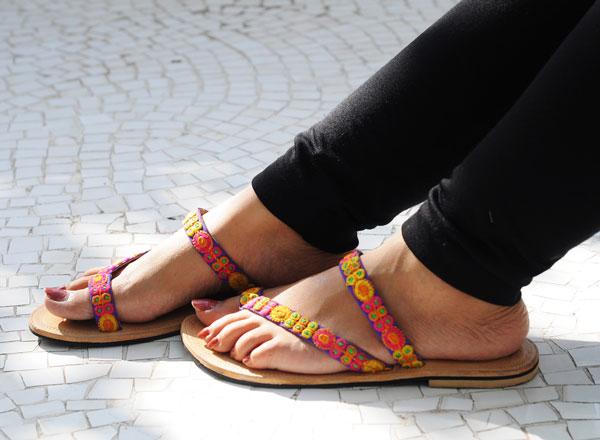 Binaifer Line of footwear Ahmedabad