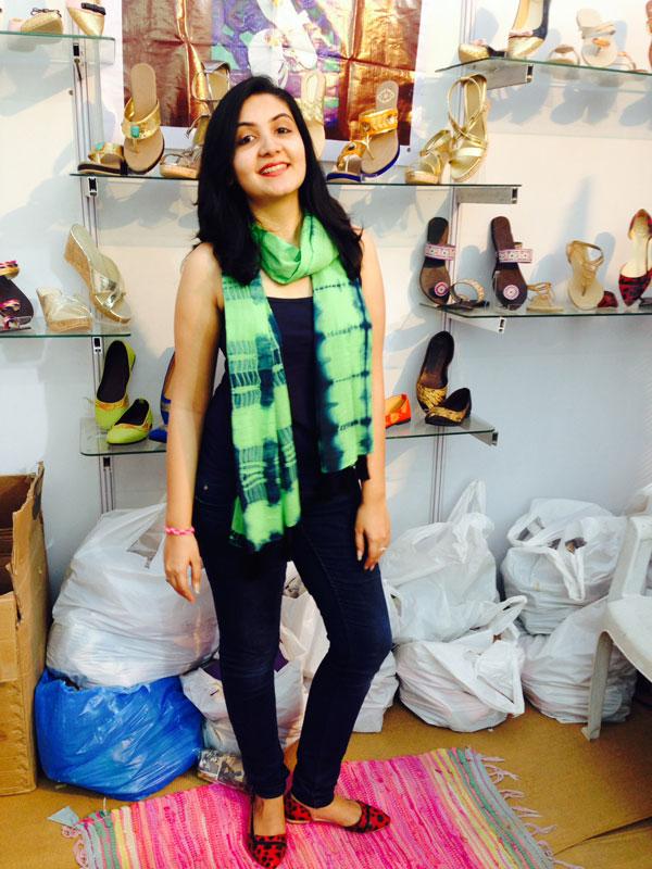 Binaifer footwear stall in ahmedabad