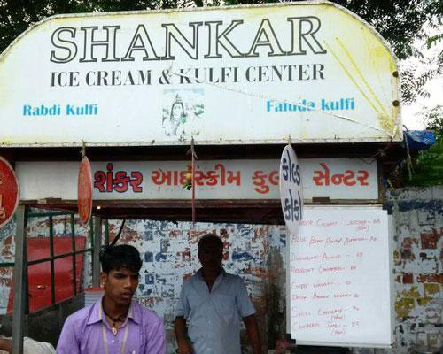 Ahmedabad Shankar ice cream