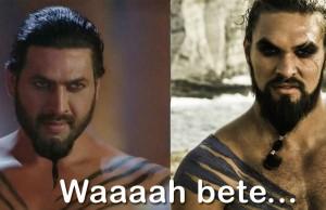 Khal Drogo Look alike