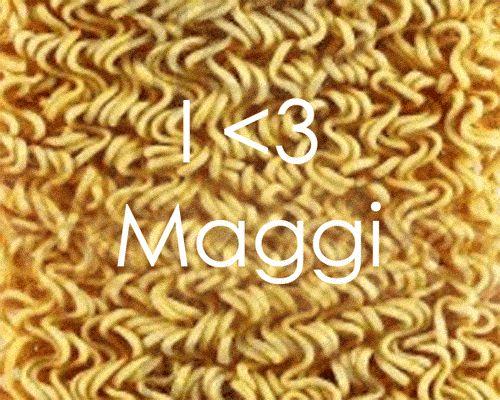 Love Maggi Noodles