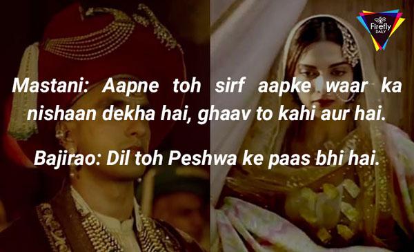 Ranveer Singh dialogues as bajirao