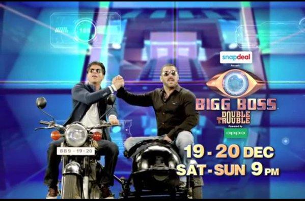 Bigg Boss nine Salman Shahrukh Promo