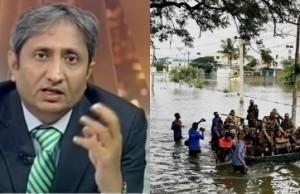 Ravish Kumar explaining Chennai floods