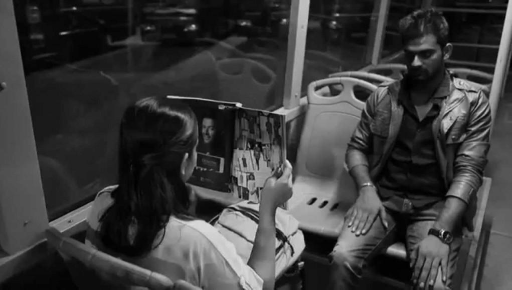 The stranger on the bus