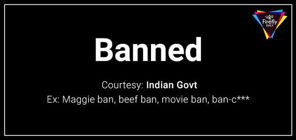 Beef Ban, movie ban