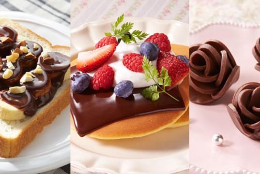 Sliced Chocolates