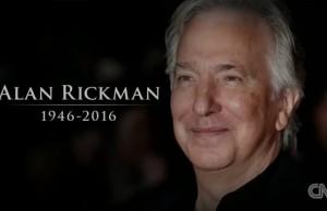 Alan Rickman most memorable characters