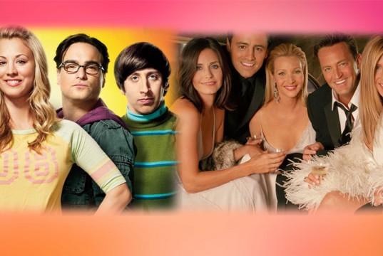Big Bang Theory and F.R.I.E.N.D.S casts epic photo