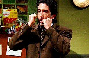 Ross Geller Expressions