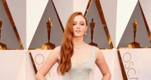 Sophie Turner at the Oscars