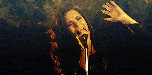 Girl Singing Concert show