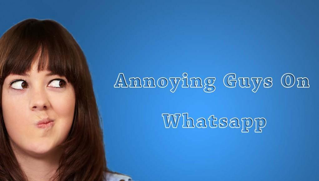 Guys on Whatsapp Chat