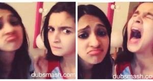Alia Bhatt Dubsmash video