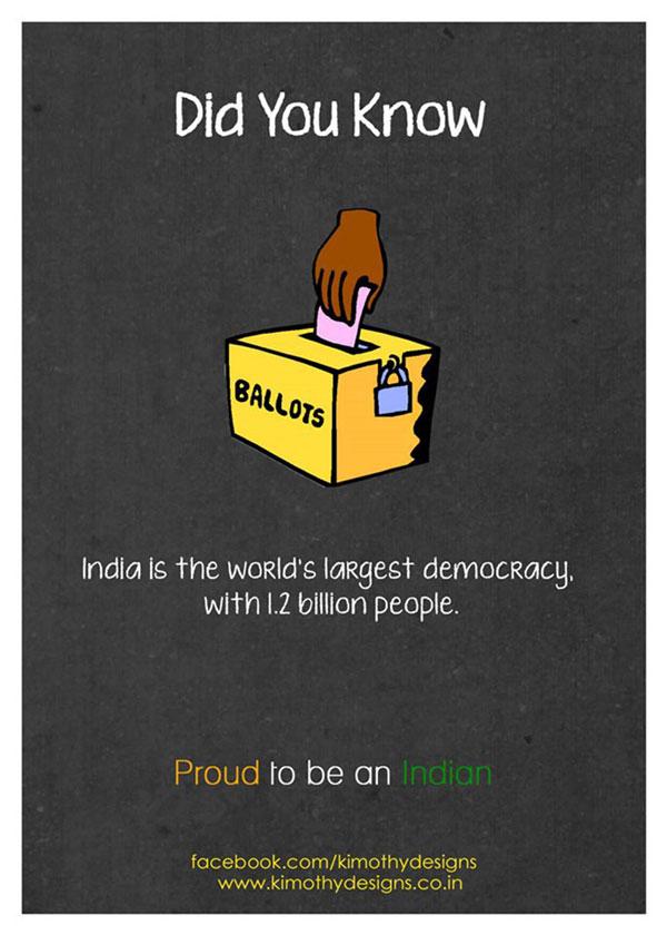 World's largest democracy - India