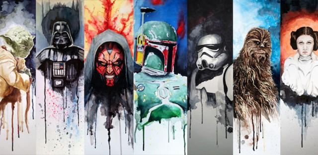 Fantastic Star Wars Artworks