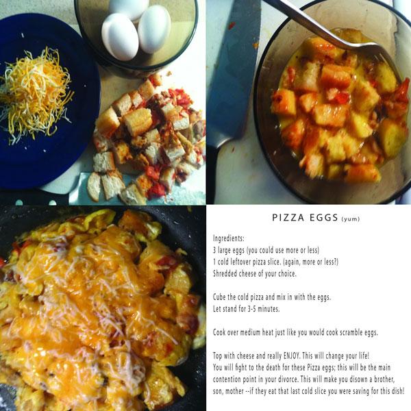 Recipe for Pizza eggs