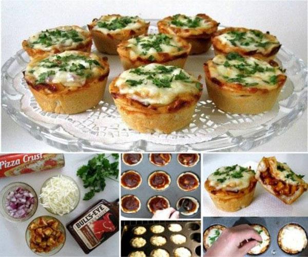 Pizza Recipe for pizza Muffin
