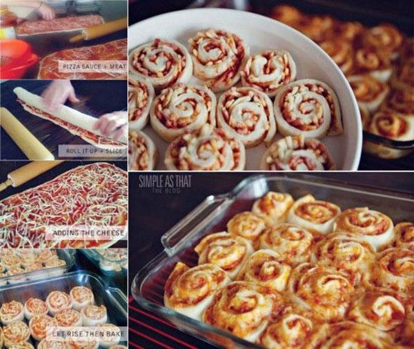 Recipe for Pizza Rolls