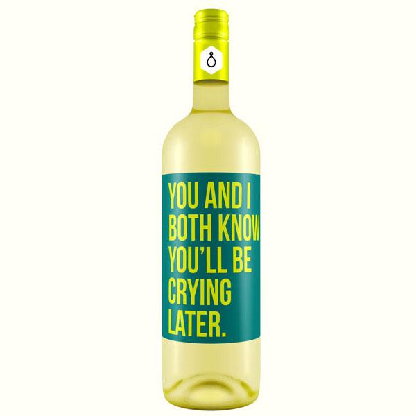 If wine Bottle had honest labels