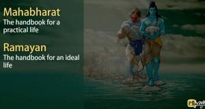 Mahabharata and Ramayana in Six Words