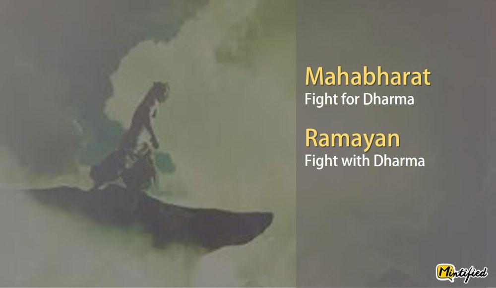 ramayana and mahabharata
