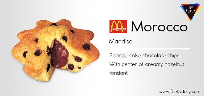 Morocco Mandise Mcdonalds Item