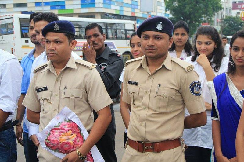 Ahmedabad Police appreciated NEM efforts