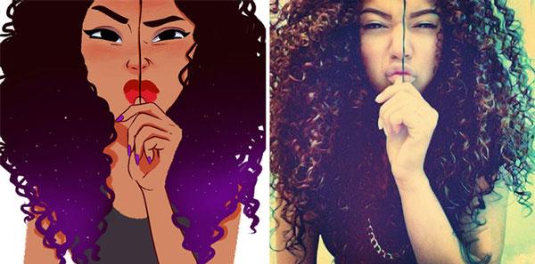 Brazilian Artist Turns Photos Of Random People Into Fun Illustrations