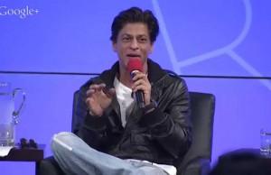 SRK and Sundar Pichai