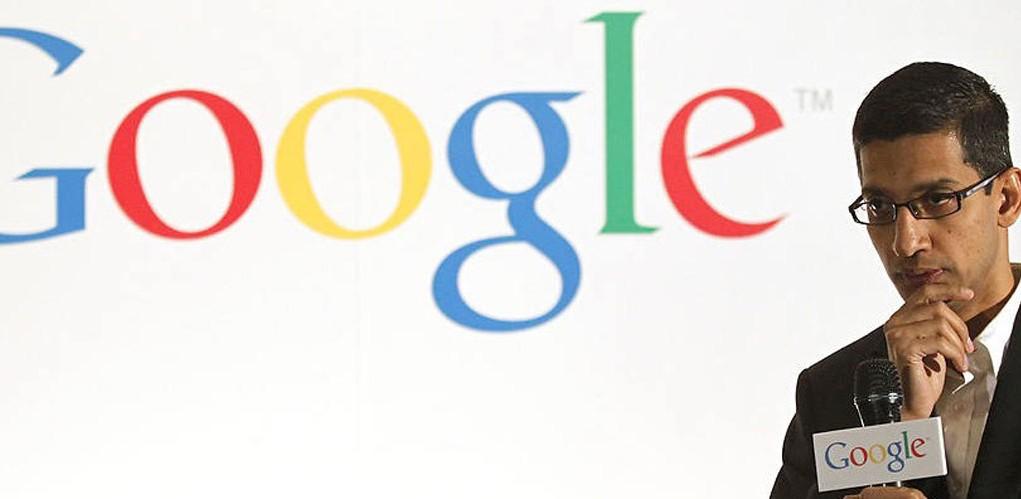 Sundar Pichai Ceo of Google .